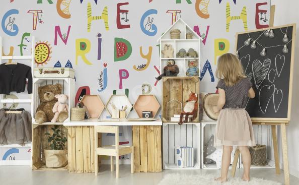 Fotomural alfabeto para niños