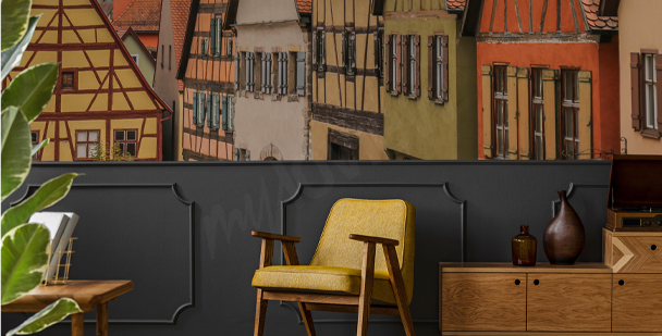 Fotomural arquitectura bávara