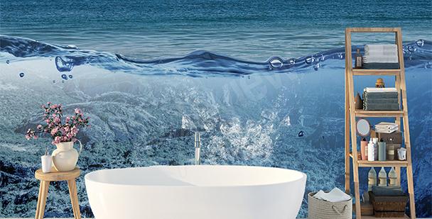Fotomural aumentado: océano