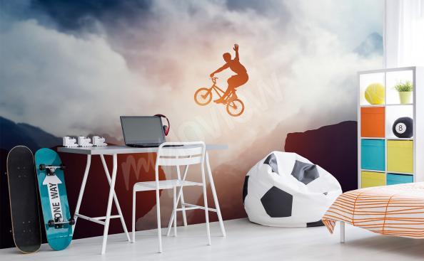 Fotomural Bicicleta deportiva para la habitación del adolescente