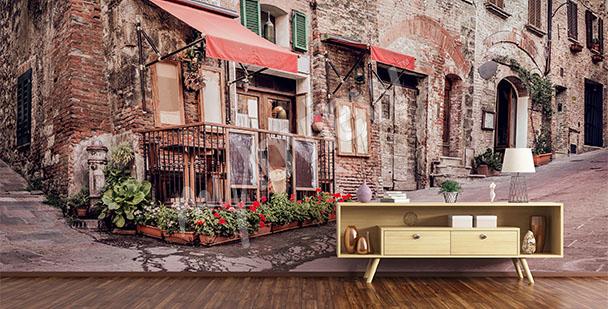 Fotomural calle de Toscana