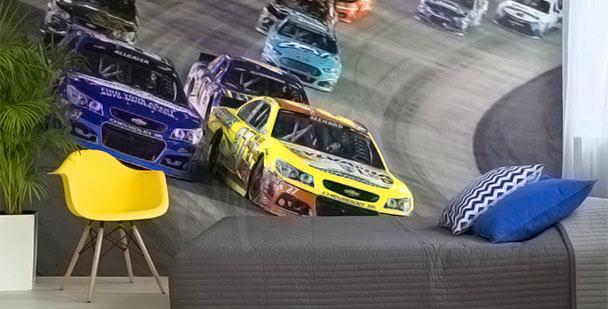 Fotomural Coches NASCAR