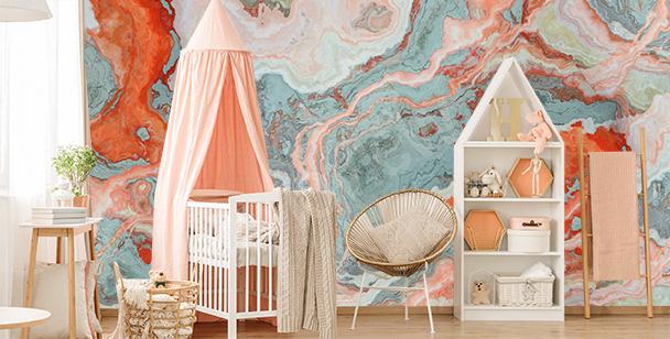 Fotomural colorido para cuarto de niño