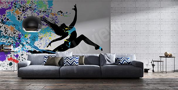Fotomural danza moderna