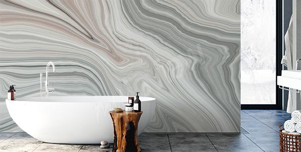 Fotomural decorativo para baño