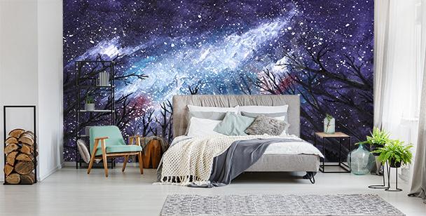 Fotomural estrellado cosmos
