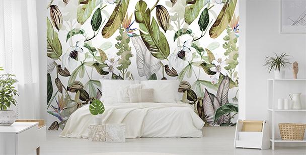 Fotomural flora exótica