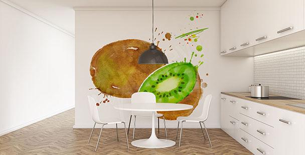 Fotomural fruta: kiwi