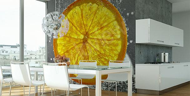 Fotomural fruto de naranja