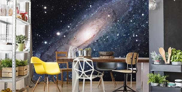 Fotomural galaxia para comedor