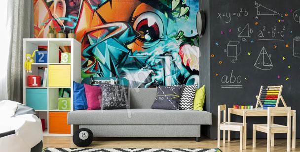 Fotomural graffiti abstracto