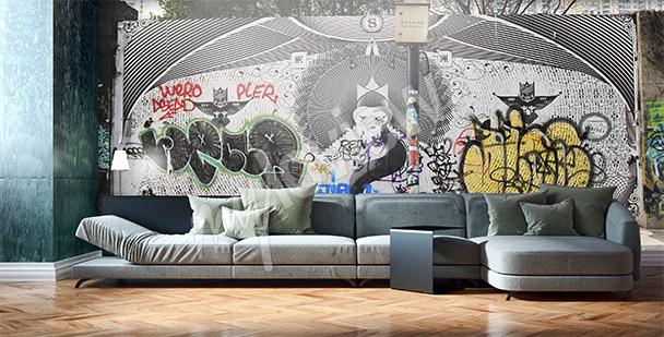 Fotomural graffiti en Shanghái