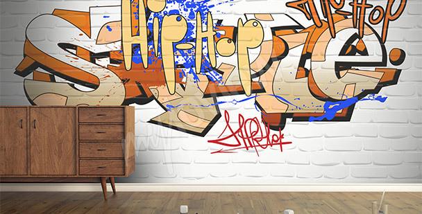 Fotomural graffiti palabras