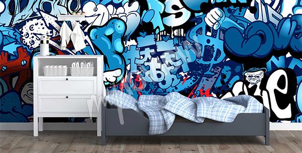 Fotomural graffiti street art