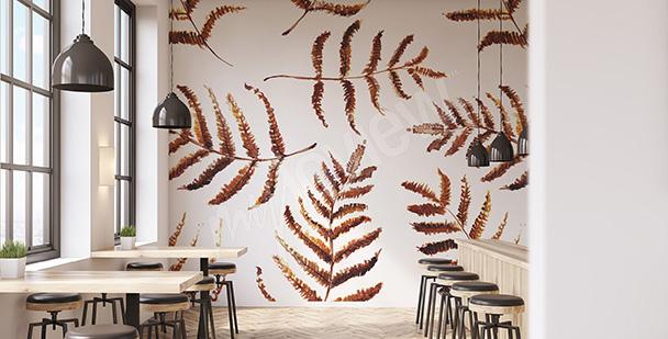 Fotomural hojas otoñales
