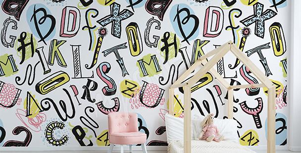 Fotomural infantil alfabeto