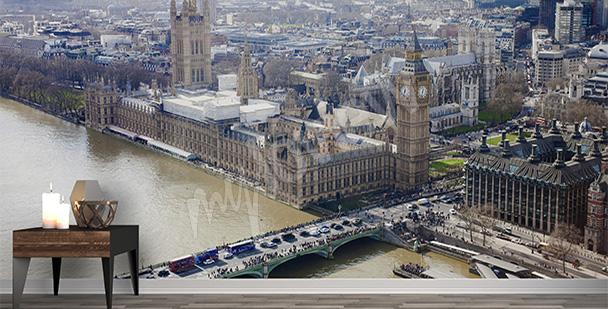 Fotomural Londres a vuelo de pájaro