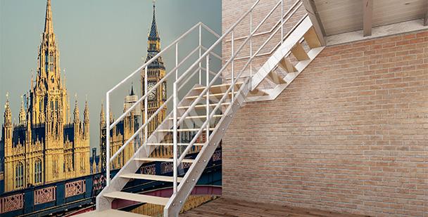Fotomural Londres para el vestíbulo