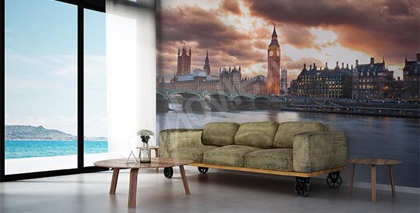 Fotomural Londres para la sala de estar