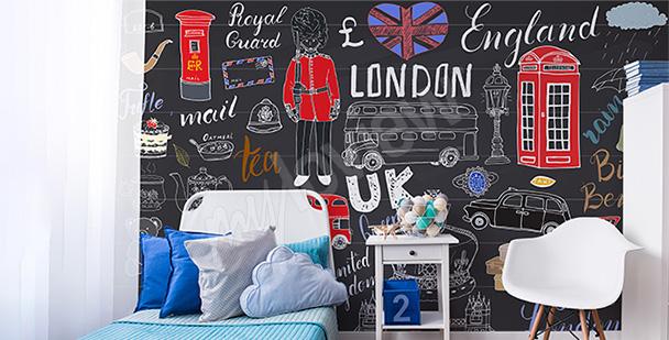 Fotomural Londres para un adolescente