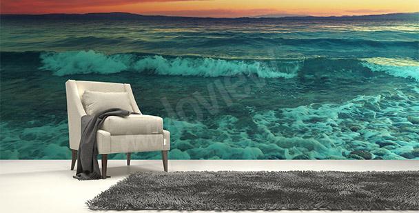 Fotomural  mar y olas