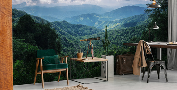 Fotomural montañas en Tailandia