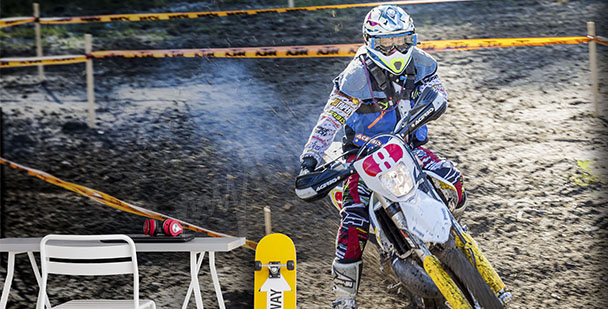 Fotomural motociclista
