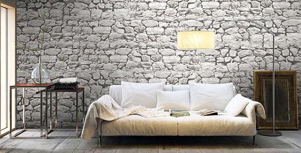Fotomural muro de piedra