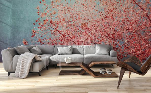 Fotomural Naturaleza de la sala de estar