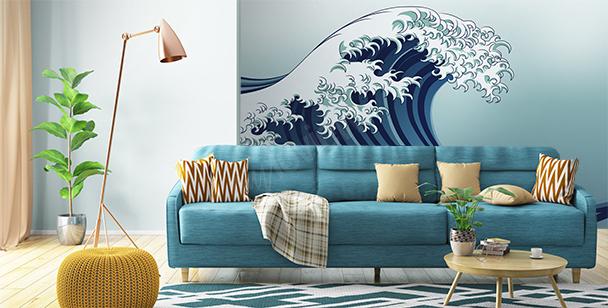 Fotomural ola marina