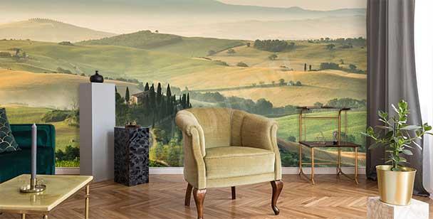 Fotomural paisaje en Toscana