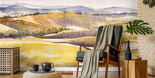 Fotomural paisaje italiano