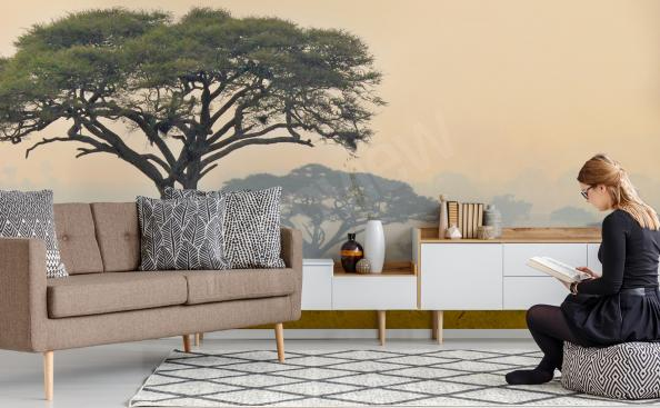 Fotomural panorama de africa