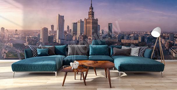 Fotomural panorama de Varsovia
