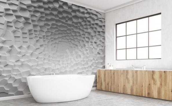 Fotomural para baño 3D