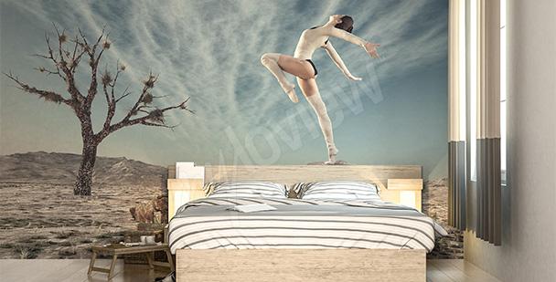 Fotomural para dormitorio - bailarín