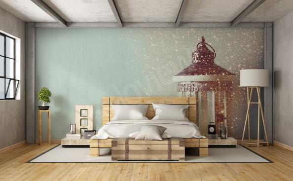 Fotomural para dormitorio faro