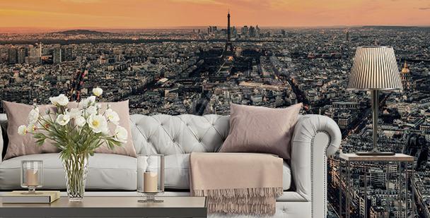 Fotomural París al atardecer