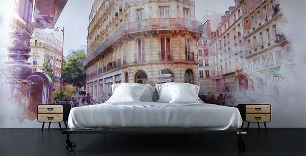 Fotomural París calle histórica