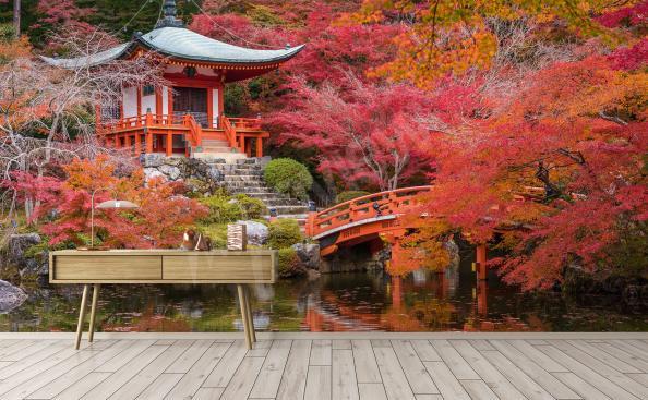 Fotomural parque en japon