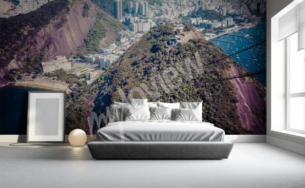 Fotomural montañas para la sala de estar