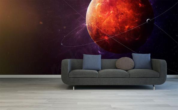 Fotomural planeta rojo Marte