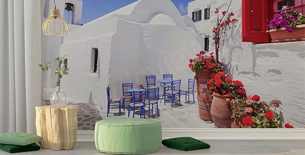 Fotomural pueblo griego