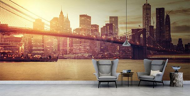 Fotomural puente en Nueva York