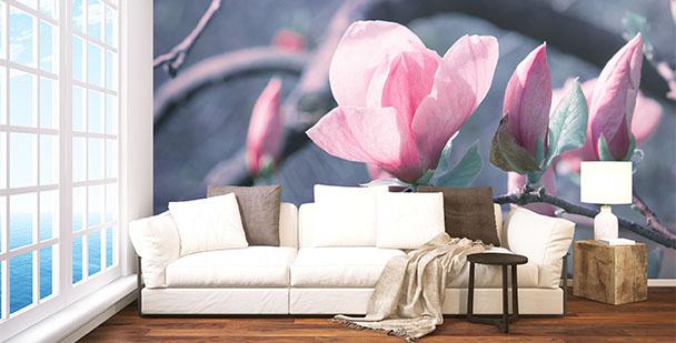 Fotomural ramita de magnolia
