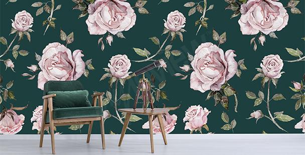 Fotomural rosas elegantes