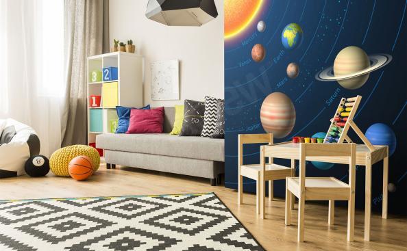 Fotomural sistema solar