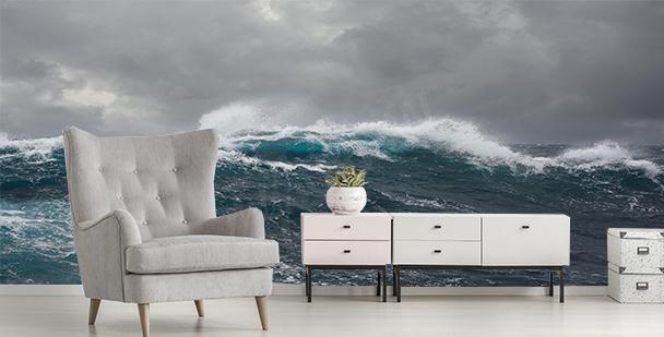 Fotomural tempestad en el mar