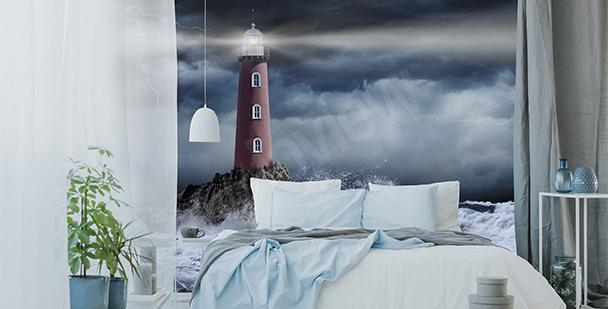Fotomural tempestad en la noche