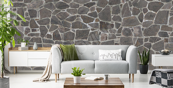 Fotomural textura de piedra